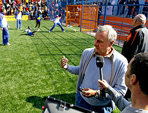 Johan Cruyff evento escola Holanda