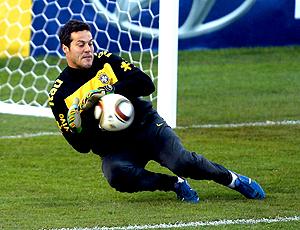 Alívio no gol da seleção (EFE)