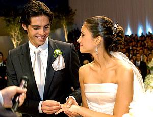 Kaká casamento