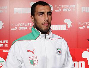 Yazid Mansouri, capitão da Argélia, é barrado pelo treinador e detona uma crise em sua seleção (Getty Images)