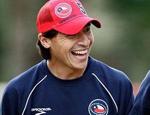 Pablo Contreras treino Chile
