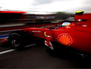 Alonso Ferrari treino Canadá