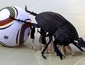 besouro cerimônia de abertura copa do mundo