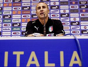 Fabio Cannavaro coletiva Itália