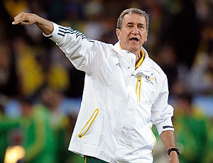 Parreira jogo Bafana Bafana contra México