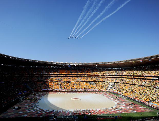 estádio Soccer City abertura jogo