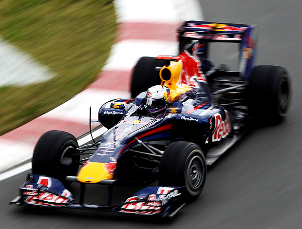 Vettel RBR treino Canadá