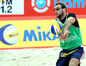 Márcio vôlei de praia Grand Slam Moscou