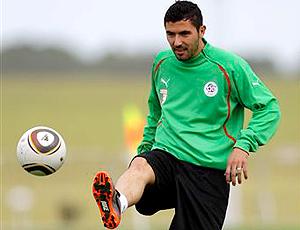 Anther Yahia argélia treino