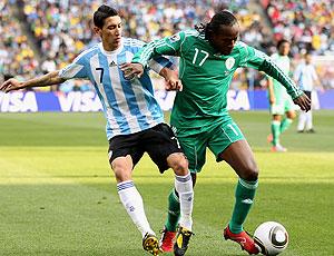 Di Maria jogo Argentina contra Nigéria