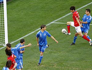 Lee Jung-soo gol Coreia do Sul