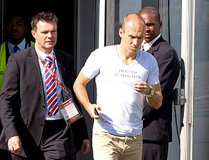 Robben holanda chega à África do sul