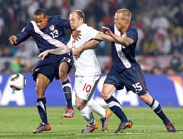 Rooney Inglaterra x EUA