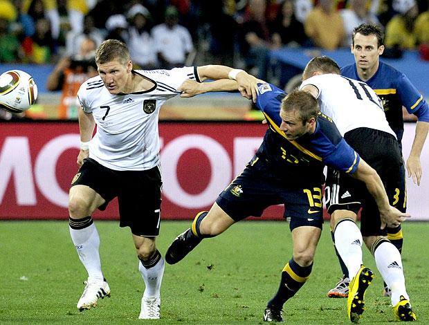 Bastian Schweinsteiger jogo Alemanha contra Austrália