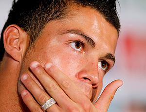 Cristiano Ronaldo em coletiva
