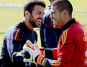 fabregas valdes espanha treino