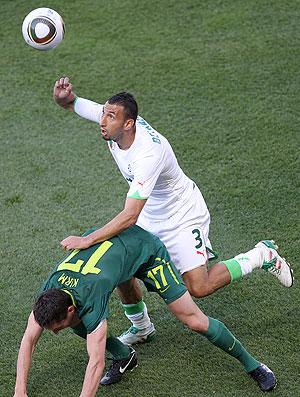 jogo Argélia contra Eslovênia Copa