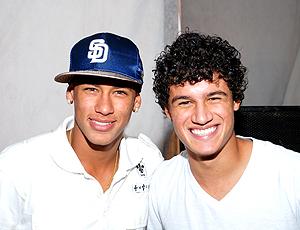 Philippe Coutinho e Neimar no aniversário jogador Vasco