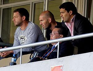 Zidane jogo Eslovênia contra Argélia