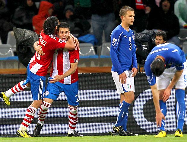alcaraz gol, paraguai itália