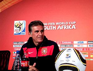 Carlos Queiroz Portugal coletiva