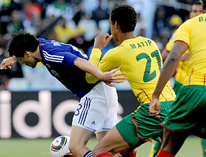 Daisuke Matsui jogo Japão contra Camarões