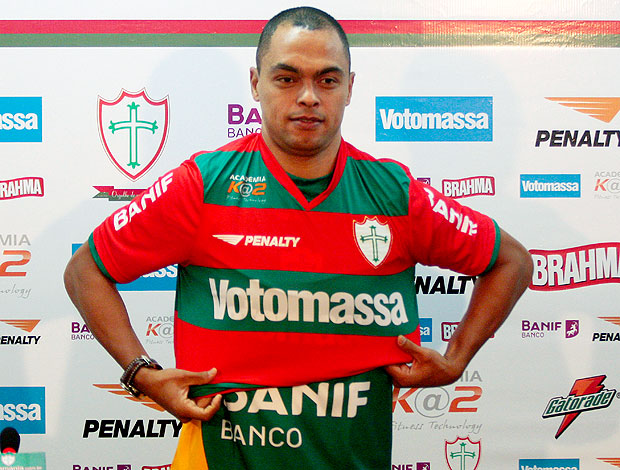 Dodô apresentado na Portuguesa