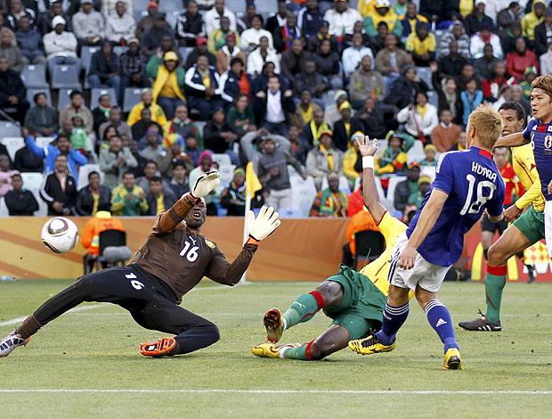 Keisuke Honda gol Japão contra Camarões