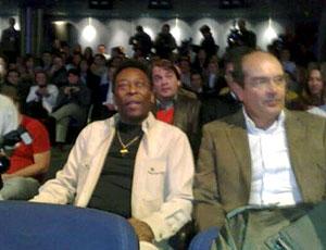 Pelé no cinema lançamento de curta