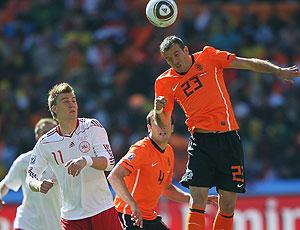 Rafael Van der Vaart jogo Holanda contra Dinamarca
