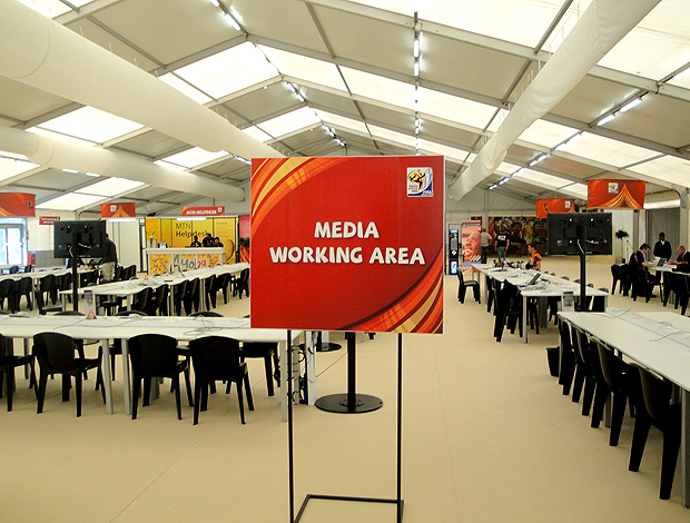 sala de imprensa Royal Bafokeng