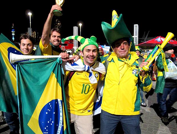 brasil coreia torcedores