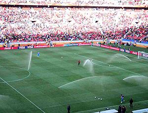 Sistema de Drenagem no estádio Nelson Mandela
