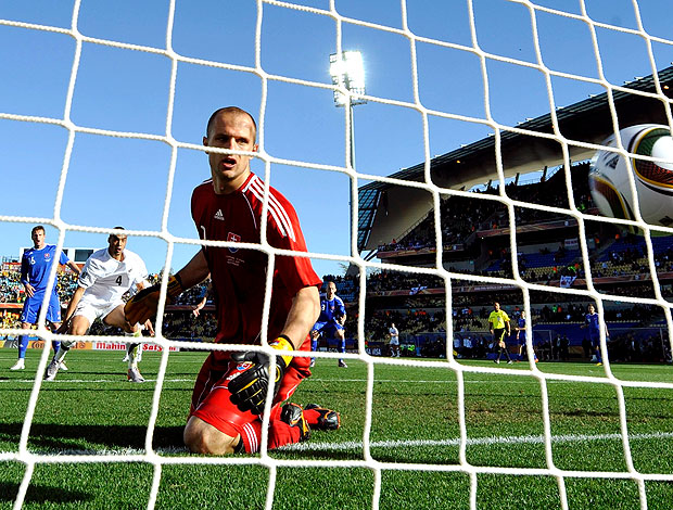 Jan Mucha gol Nova Zelândia contra Eslováquia