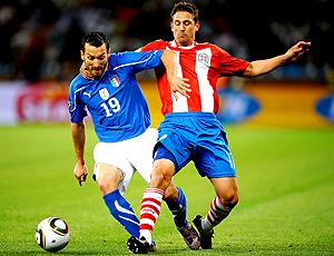 Jonathan Santana paraguai, zambrotta itália