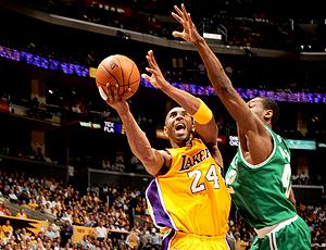 nba Lakers Kobe Bryant boston Tony Allen