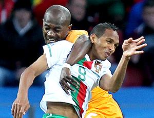 Liedson jogo Portugal contra Costa do Marfim