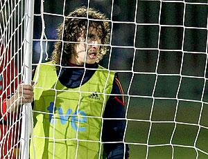 Puyol treino Espanha