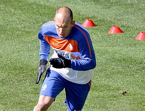 Robben treino Holanda