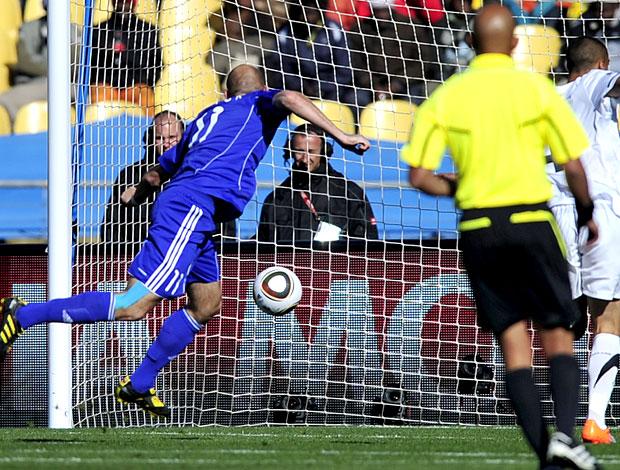 Robert  Vittek gol Eslováquia contra Nova Zelândia