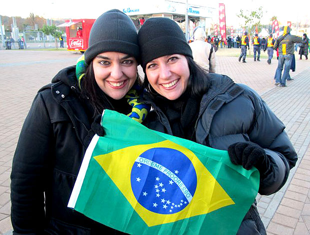 torcida Brasil Ellis Park jogo