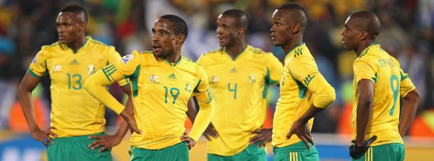 jogadores africanos uruguai x africa do sul