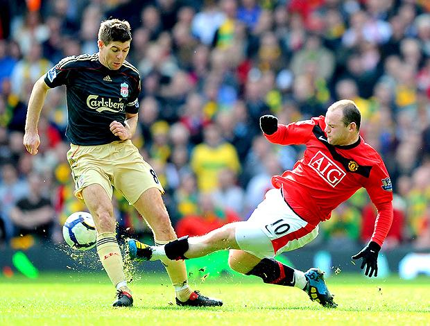 Gerrard liverpool rooney manchester united