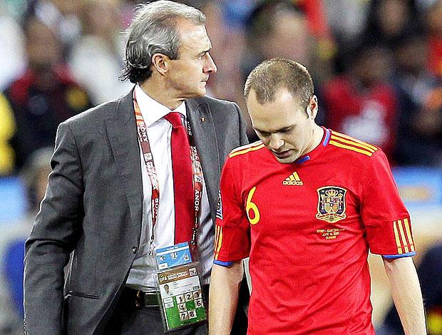 Iniesta derrota Espanha contra Suíça