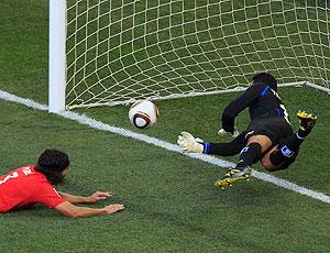 Noel Valladares defesa Honduras contra Chile