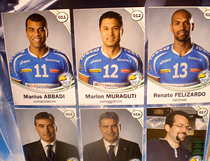 Marlon seleção brasileira vôlei figurinha