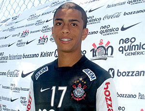 André Vinícius categoria de base Corinthians (Foto: Julyana Travaglia / GLOBOESPORTE.COM)
