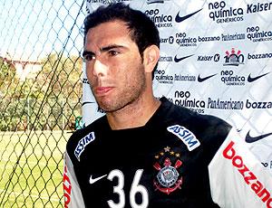 Bruno César enrevista treino Corinthians