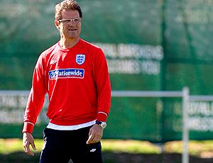 Fabio Capello Inglaterra treino