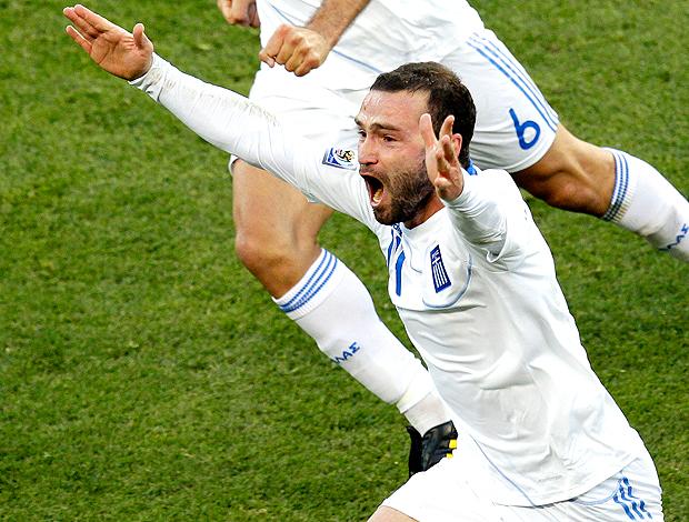 DimitrisSalpingidis gol Grécia contra Nigéria